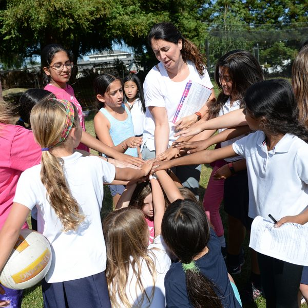 Girls on the Run program helps lower school students improve confidence and kindness
